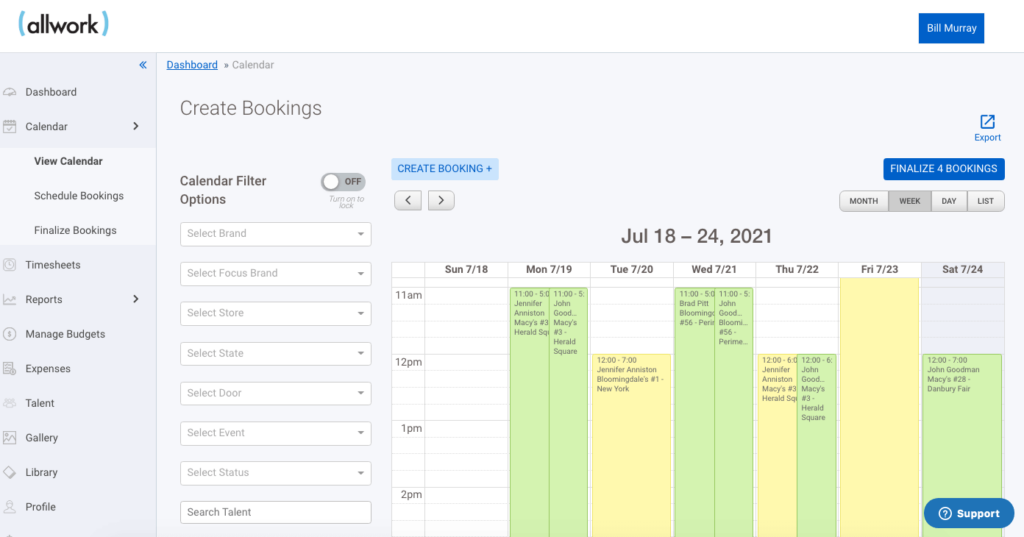 Freelancer Management and Scheduling