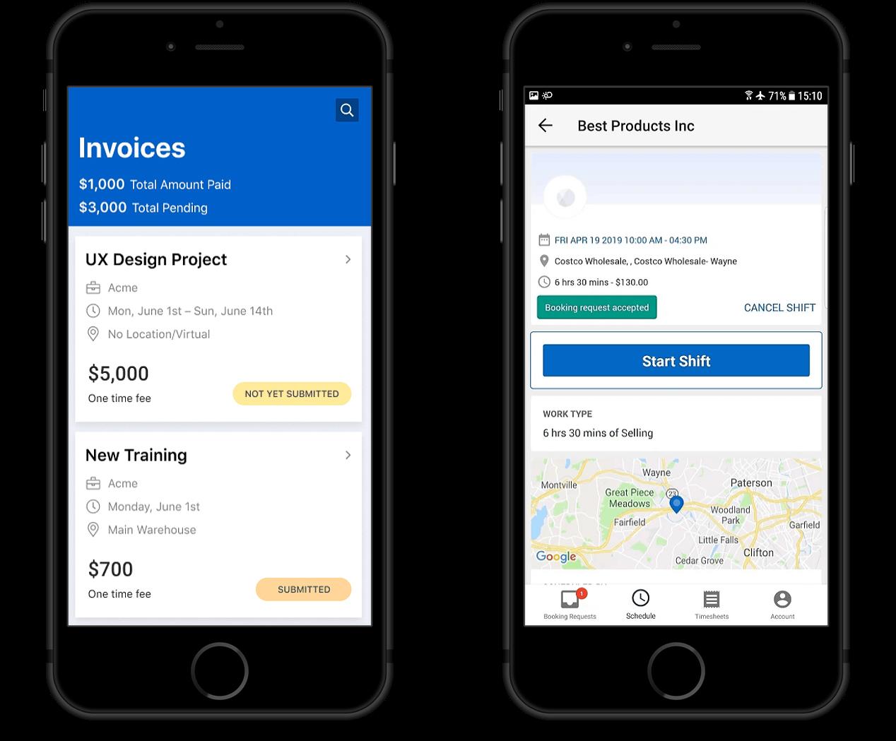 AllWork Mobile App For Freelancer Management